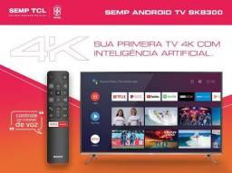 "Smart TV semp 50"" polegadas"