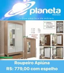 Título do anúncio: ROUPEIRO APIÚNA PROMOÇÃO / AQUÁRIO AQUÁRIO