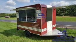 Trailer Hot Dog Food Truck Completo Fabricante Especialista