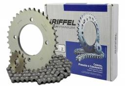 Título do anúncio: Kit Riffel Aço 1045 Biz 125