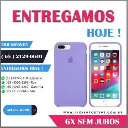 Capinha Case Capa iPhone 8 Plus / 7 Plus Cor Lilac Lilais