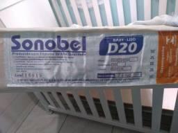 Vendo berço colchão e BB conforto tudo por 200 reais