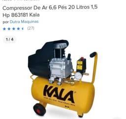 Compressor de ar 6,6 pes