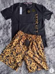 Título do anúncio: Kit Camiseta + Bermuda