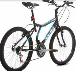 Bicicleta Houston Atlantis Land Aro 24 Preto Fosco