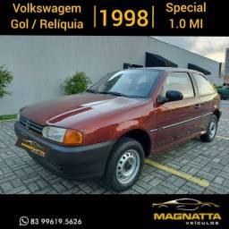 Volkswagen <br>Gol<br>1.0 8v Special<br>1998, uma Relíquia! todo original...Impecável!
