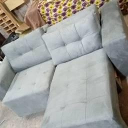 Sofa retrátil novo