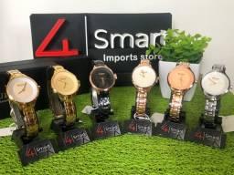 Título do anúncio: Melhor preço! Relógio Curren Feminino 9015