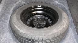 Roda e Pneu Pirelli P6 195/65R15 Novo