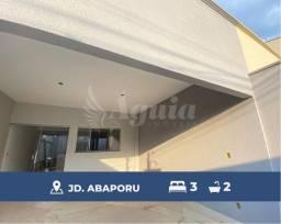Título do anúncio: Casa com 3 quartos no Jardim Abaporu, em Goiânia