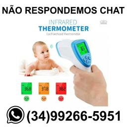Título do anúncio: Termômetro Infravermelho Febre Corporal * Fazemos Entregas