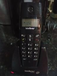 Telefone sem fio com indentificador de chamada