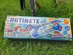 Patinete patrulha da justiça- suporta até  50 kilos.