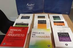 Coleção De Livros Arquitetura, Mundial Editora