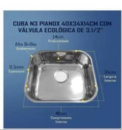 Título do anúncio: Cuba Inox de Pia