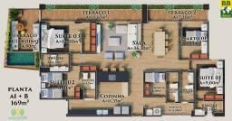 Título do anúncio: Apartamento para Venda em Parnamirim, Cotovelo (Distrito Litoral), 4 dormitórios, 3 suítes