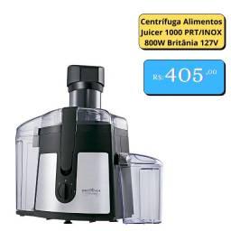 Centrífuga Alimentos Juicer 1000 PRT/INOX 800W Britânia 127V