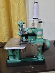 Título do anúncio: Máquina de Costura Overlock Semi Industrial Portátil Importway IWMC-506 Verde 110v