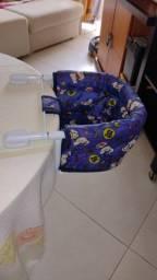 Título do anúncio: Cadeira de Alimentação do Bebê Azul Tutti Baby