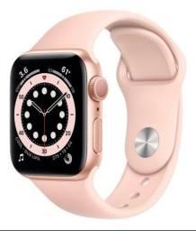 Apple Watch Serie 6 40mm GPS/Caixa de Alumínio Dourado com Pulseira Esportiva Rose