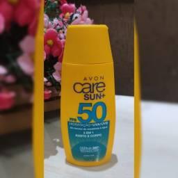 Título do anúncio: Protetor Solar FPS 50 Avon 2 em 1 Corpo e Rosto