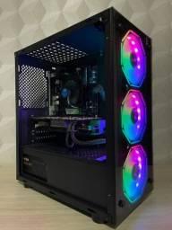 PC Gamer Intel Core i3-10100F GTX 1050Ti 4Gb SSD 256Gb