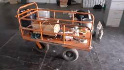 Carrinho para transporte peças