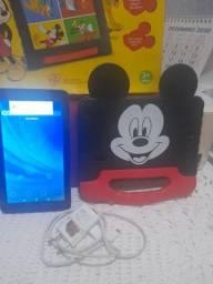 Título do anúncio: Tablet Mickey plus +16 Giga Android 8.1 em estado de novo