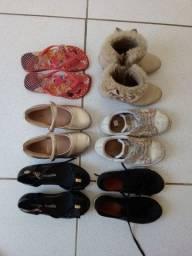 Sapatos infantis feminino