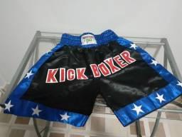 Calção luta / kick boxer