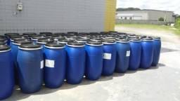JR Tambores - Tambor Plastico 150 Litros Tampa Removivel e Alça