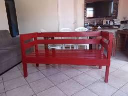 Título do anúncio: Sofá de madeira