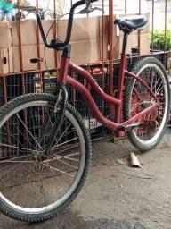 Bike com quadro de alumínio