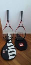 Raquete de tênis + Rede + bolas