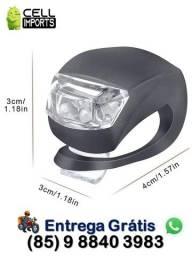 Título do anúncio: Kit 2 Luz De Segurança Bicicleta C/ Entrega Grátis
