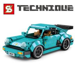 Porsche 911 Technique Bloco De Montar 717pç Tipo Lego