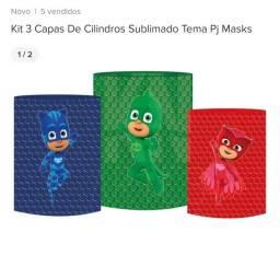 Título do anúncio: 1- itens para decoração de aniversário infantil tema PJ Masks