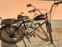 Bicicleta motorizada pouco usada