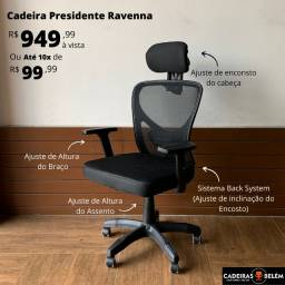 Título do anúncio: Cadeira Presidente Ravenna Nova 10x S/Juros