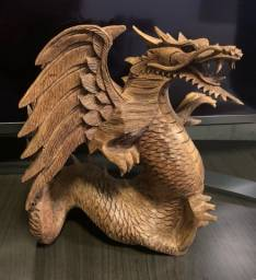 Vendo Dragão escultura madeira de Bali