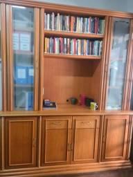 Estante de madeira ,conjunto para escritório ou casa