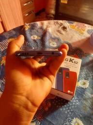 Celular LG k 62  com nota fiscal  e carregador