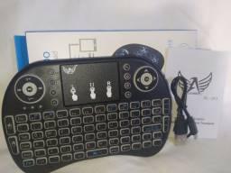 Mini teclado wireless sem fio, para PS3, PC, Notebooks, Celular, Tv smart...