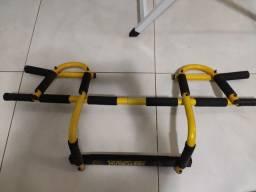 Barra Porta Multifuncional Musculação Fixa Mista
