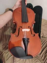 Violino Schieffer acabamento em verniz 4/4