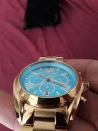lindo e sofisticado relógio Michael kors série ouro