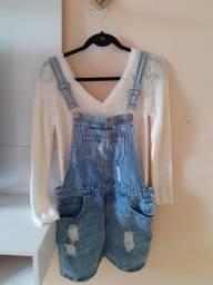Macaquinho jeans FOREVER 21