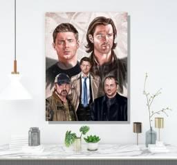 Quadro / Placa decorativa supernatural série
