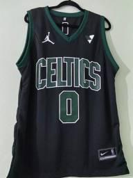 Regata NBA Boston Celtics Preta NOVO
