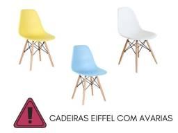 Título do anúncio:  Cadeira de Jantar Eiffel Charles Eames Wood Saldo com Avarias - Ultima unidade**